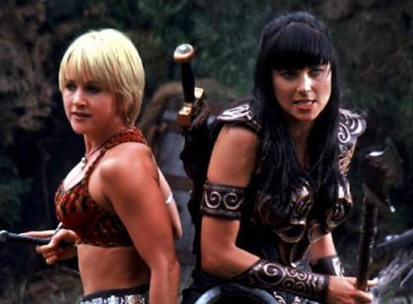 Xena shows early bisexual representation