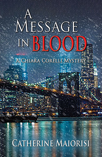 new release A Message in Blood